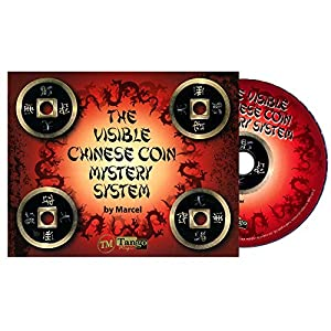 MMS The Visible Chinese Coin Mystery System (CH015) (Gimmicks and DVD) by Marcel and Tango Magic - DVD