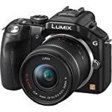 Panasonic DMC-G5KK 16 MP Compact System Camera with 14-42mm Zoom Lens and 3-Inch LCD (Black)