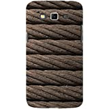 For Samsung Galaxy Grand Neo :: Samsung Galaxy Grand Lite Brown Rope ( Brown Rope, Rope, Rope Pattern ) Printed Designer Back Case Cover By FashionCops