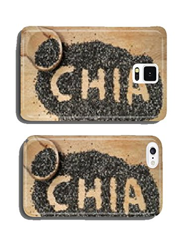 Chia seeds, a healthy source of antioxidants, omega 3 and fiber cell phone cover case iPhone6