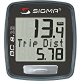 Sigma BC8.12 ATS 8-Function White Wireless Bicycle Computer Sigma Sport