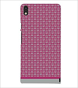 PrintDhaba Pattern D-1588 Back Case Cover for HUAWEI ASCEND P6 (Multi-Coloured)