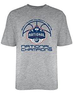 Buy NCAA Connecticut Huskies 2014 National Championship T-Shirt, Gray by Old Varsity Brand