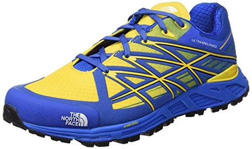 North Face M Ultra Endurance Scarpe da Trail Running, Uomo, Blu (Bluqrtz/Frsiayw), 43