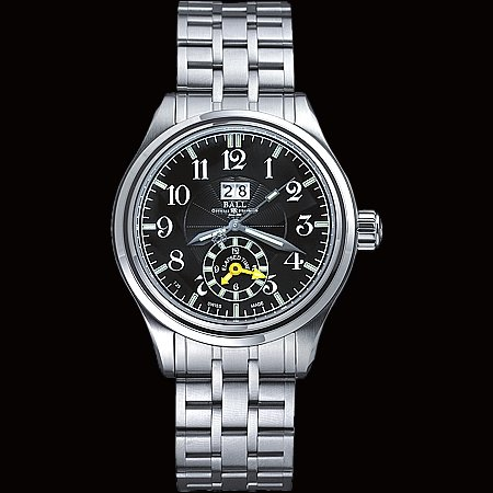Ball Automatic Watch Trainmaster Dual Time GM1056D-SJ