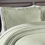 Lamont Limited Home Woven Sham, Standard, Jacquard, Sage
