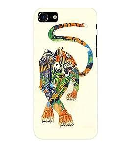 EPICCASE art tiger Mobile Back Case Cover For Apple iPhone 7 (Designer Case)