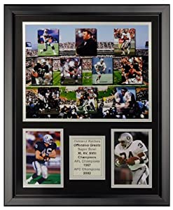 Art of Hollywood, Oakland Raiders Framed Photo Presentation - 18 x 22 Inch Size by Art of Hollywood