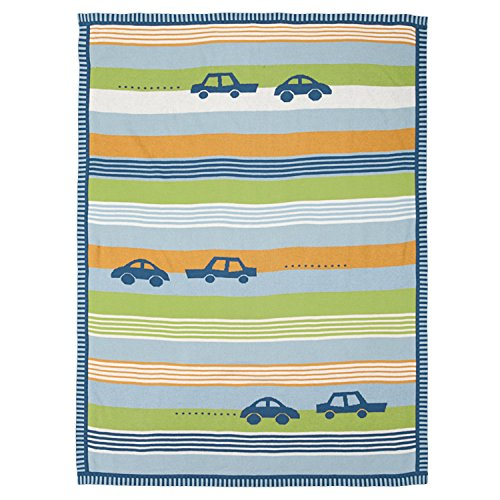 Lolli Living Cotton Knit, Cars