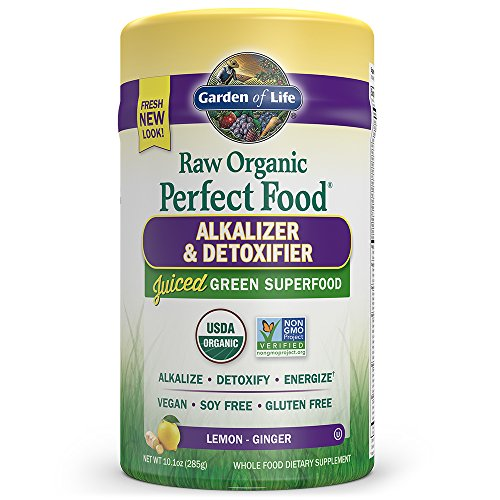 Garden Of Life Vegan Green Superfood Powder Raw Organic Perfect Whole Food Alkalizer