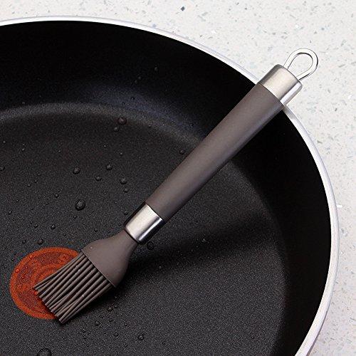 TGLOE High Temperature Resistance Silica Gel Soy Brush No Hair Slip Baking Brush