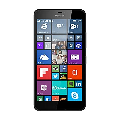 Microsoft Lumia 640 XL (Black, 8 GB)