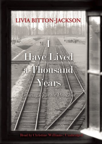 a book report on i have lived a thousand years by livia bitton jackson Livia bitton-jackson i have lived a thousand years by livia bitton-jackson get book club recommendations.