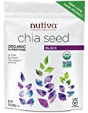 Nutiva Organic Black Chia Seeds, 12-oz. Bag