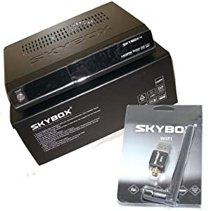 SKYBOX F3 HD SATELLITE RECEIVER + USB WIFI, HDMI,UPGRADE OPENBOX