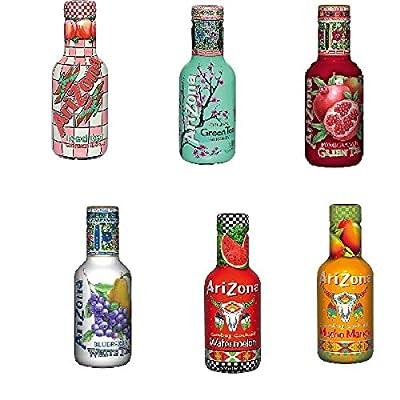 18 Pet Flaschen a 0,5L Arizona Ice Tea Mix 6 Sorten Eistee inc. Pfand von CTP-Germany GmbH auf Gewürze Shop