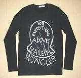 MONCLER モンクレール 長袖Tシャツ ブラック Lサイズ