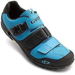 Giro Terraduro Shoe - Men\'s Blue Jewel/Black 44.5