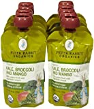 Peter Rabbit Organics Variety of Fruit and Vegatables Baby Food - 10 Pack (Kale & Broccoli & Mango)