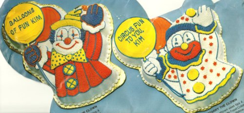 Wilton Cake Pan: Circus Clown (502-3193, 1981) (Clown Cake Pan compare prices)