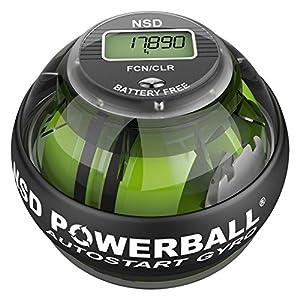 NSD Powerball Auto Start Pro Indestruction Powerball - Smoked Black, 280 Hz