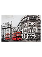 Artopweb Panel Decorativo Piccadilly Circus London Red Multicolor