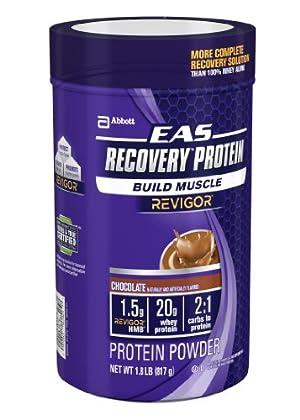 Proteína en Polvo EAS Recovery 1.8 libras, sabor chocolate