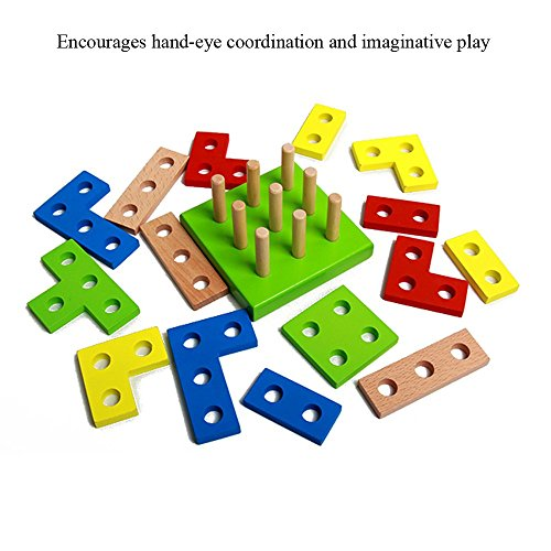 Wooden Educational Preschool Shape Early Developmental Geometric