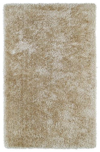 """2' X 3' Rectangular Kaleen Accent Rug Psh01-03-23 Beige Color Handmade In China """"Posh Collection"""" Solid Pattern front-558806"""