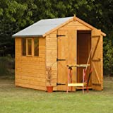 8x6 Shed Republic Professional Tongue and Groove Apex Heavy Duty Wooden Shed