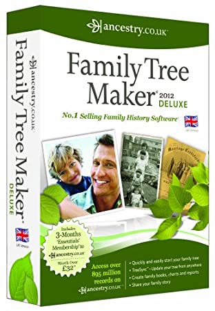 Family Tree Maker 2012 Deluxe Edition (PC)