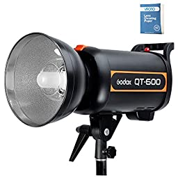 Godox QT600 High Speed Sync Photography Studio Strobe Flash Modeling Light Fast Duration Recycle Time in 0.5-1.2S