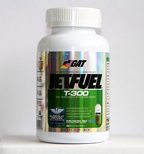 Gat - Jetfuel T300 90 Caps Dual Thermogenesis And Testosterone Catalyst