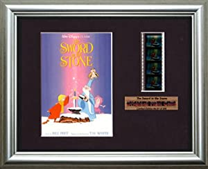The Sword in the Stone Disney - Framed filmcell picture (s)