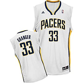 Danny Granger Indiana Pacers White NBA Youth Revolution 30 Replica Jersey by adidas