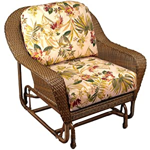 Lexington Wicker Chair Glider