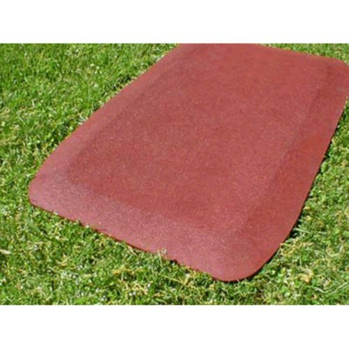 Kidwise 1.5 Inch Fanny Pads - Red Rubber Wear Mats (Set Of 2)