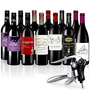 Rotwein-Medaillengewinner 12 Flaschen