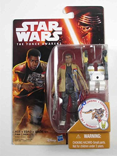 J.J. Abrams Star Wars The Force Awakens Finn Signed Action Figure Certified Authentic PSA/DNA COA