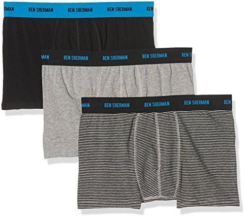 ben-sherman-mens-perry-boxer-shorts-black-black-grey-stripe-black-grey-marl-large