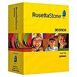 Rosetta Stone V3: German Level 1-2 Set with Audio Companion [OLD VERSION]