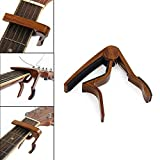 Zimo Acoustic Trigger Capo Quick Change Key Clamp Capo Guitar Capo Electric Guitars Capos With Free 7 Pcs Guitar Picks