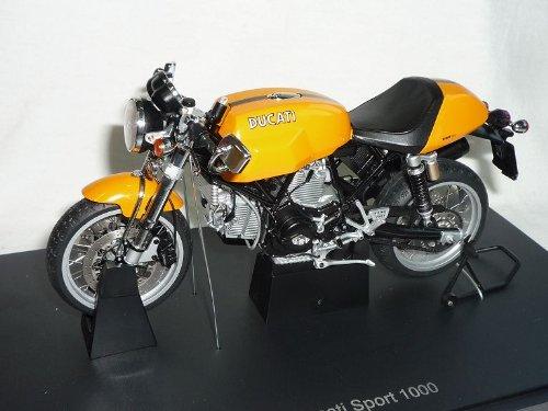 Ducati Sport 1000 Orange Gelb 1/12 AutoArt Modell Motorrad
