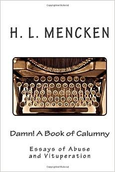 Book Review: H.L. Mencken: Prejudices - WSJ