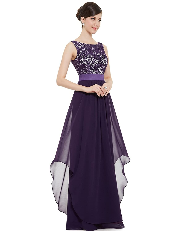 Ever Pretty Elegant Sleeveless Round Neck Evening Party Dress 08217 ободки pretty mania ободок