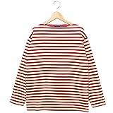 セントジェームス 長袖ボーダーTシャツ GUILDO 男女兼用バスクシャツ ECRU/TULIPE[並行輸入品]
