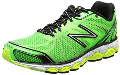New Balance - Mens 880v3 Cushioning Running Shoes, Size: 10 D(M) US, Color: Green with Yellow