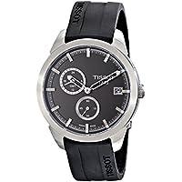 Tissotx T069.439.47.061.00 'T Sport' Rubber Strap Titanium GMT Mens Watch (Black)