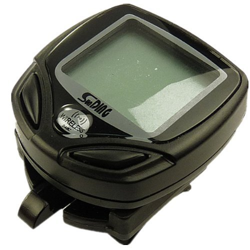 15-Fuctions Wireless Bike/Bicycle Computer Odometer Speedometer With LCD Display