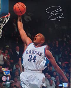 Paul Pierce Autographed Kansas Jayhawks 16x20 Signed Photo STEINER SPORTS COA by Powers+Collectibles